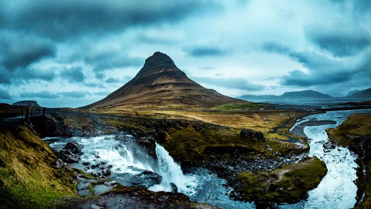 Tajemnicza Islandia z lotu ptaka
