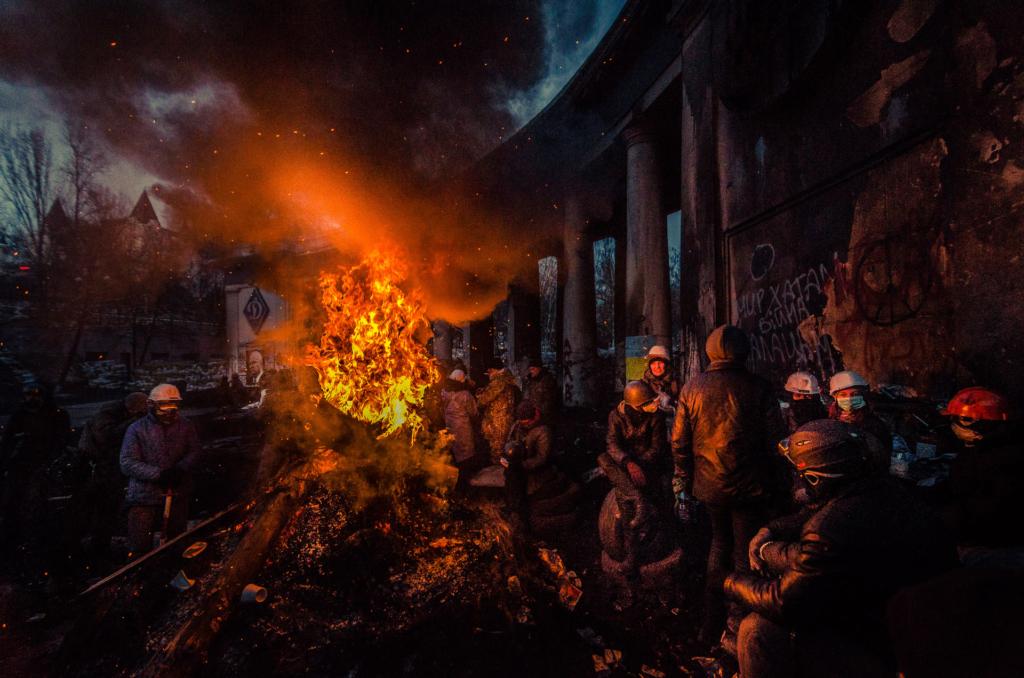 Ukraina w ogniu: Majdan