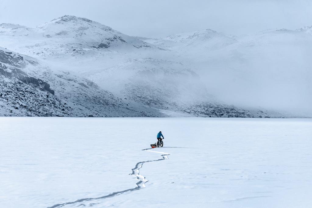 Niesamowita przestrzeń na Grenlandii