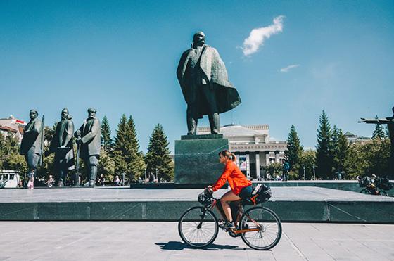 Wycieczka rowerowa po Ałtaju: sakwy bikepackingowe które mieliśmy ze sobą to prawdziwy minimalizm