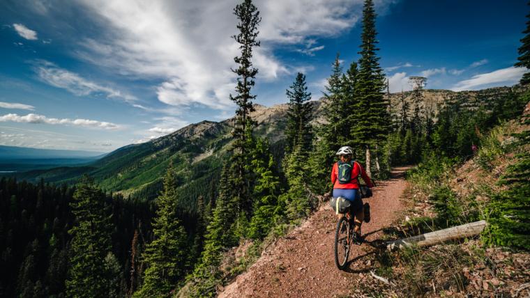 bikepacking w USA -szlakiem GDMBR