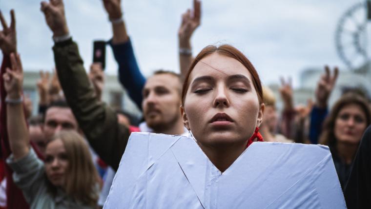 rewolucja na Białorusi