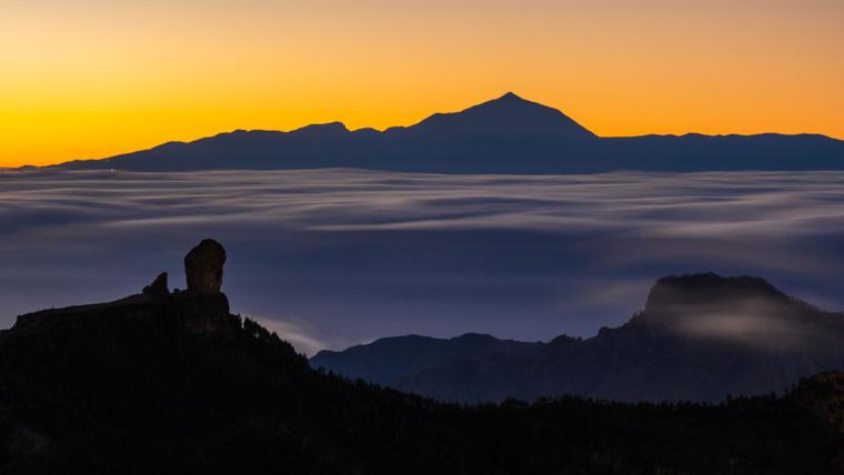 Gran Canaria widok na Roque Nublo